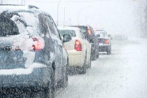 Tulsa's Heaviest Snowstorm Has Made Roads Dangerous
